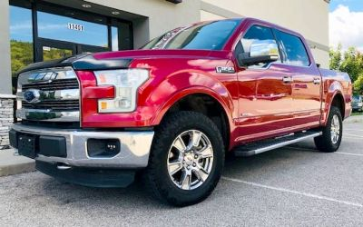 2015 Ford F-150 Lariat 4 DR. Supercrew 4X4 Pickup