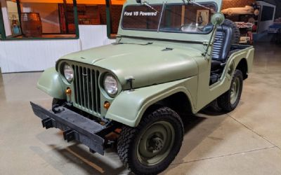 1956 Willys Jeep CJ5 Open Military Style