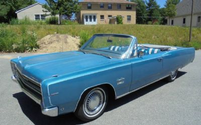 1968 Plymouth Fury Sport Convertible