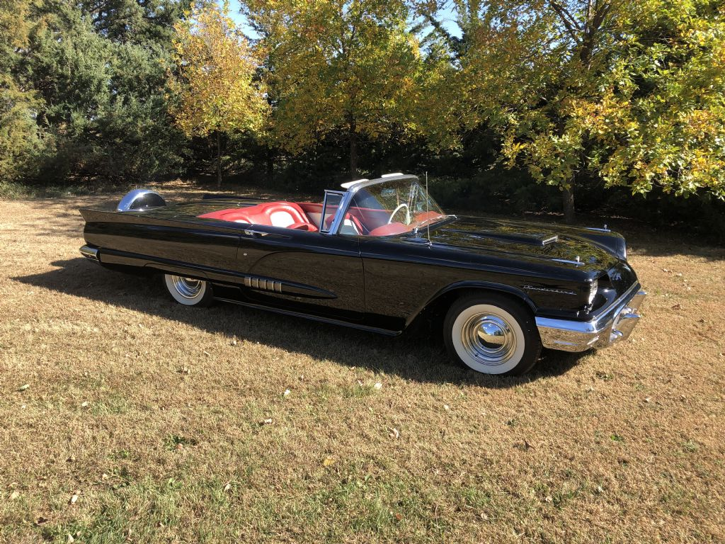 1958 Ford Thunderbird Convertible For Sale Autabuy Com