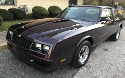 1985 Chevrolet Sorry Just Sold!!! Monte Carlo SS Coupe