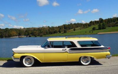1958 Mercury Commuter Station Wagon
