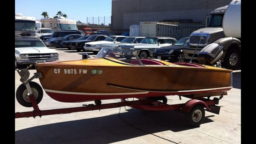 1954 Inland Style Master Wood Boat