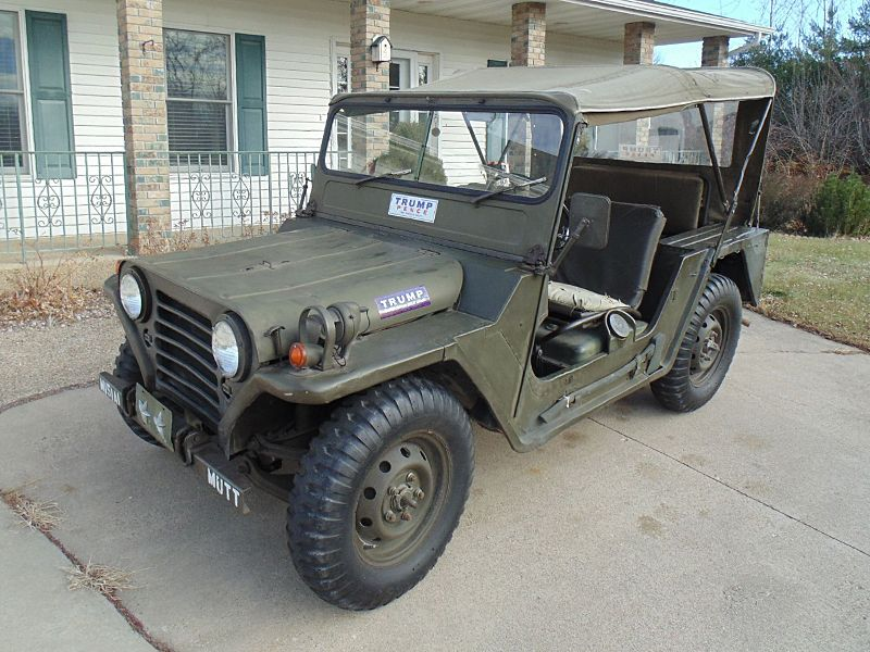 1967 FORD MUTT MILITARY