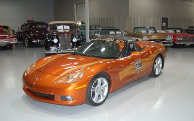 2007 Chevrolet Corvette Indy Pace Car Convert 2007 Chevrolet Corvette Indy Pace Car Convertible
