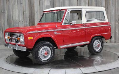 1977 Ford Bronco Sport