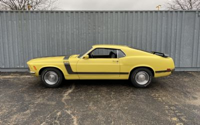 1970 Ford Mustang Boss 302 Promo Yellow