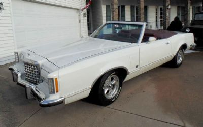 1978 Ford Thunderbird Convertible