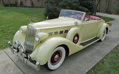 1936 Packard Series 1404 Super 8 Coupe Roadster