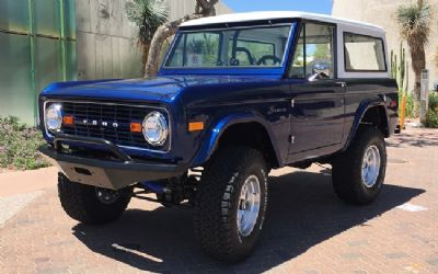 1970 Ford Bronco Body TUB