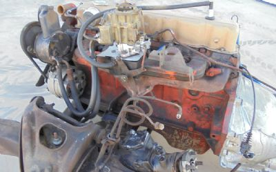 1969 Chevrolet 250 6 CYL. Engine With TH350 Trans.