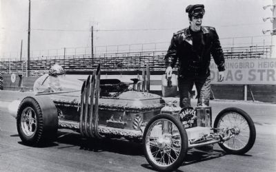 Drag-U-La Coffin Car