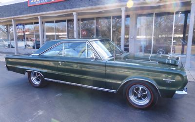 1967 Plymouth GTX 2 DR. Coupe
