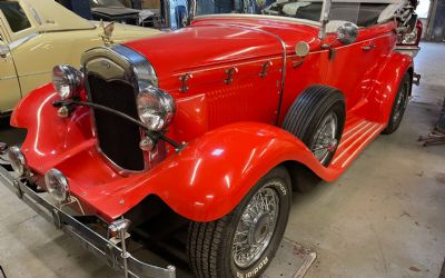 1931 Ford Model A Phaeton Convertible