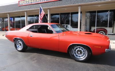 1970 Plymouth Barracuda 2 DR. Coupe