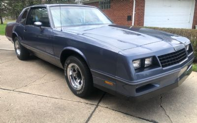 1984 Chevrolet Monte Carlo SS Coupe