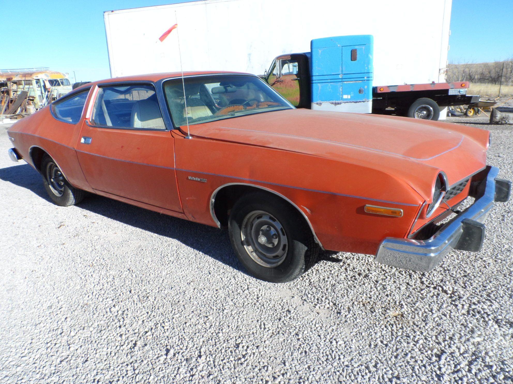 1975 AMC MATADOR SS