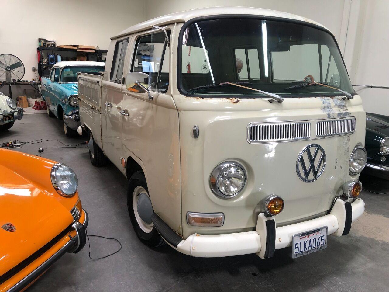 1968 Volkswagen Quad Transporter
