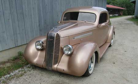 1936 Pontiac Three Window Rumble Seat Coupe For Sale Autabuy Com