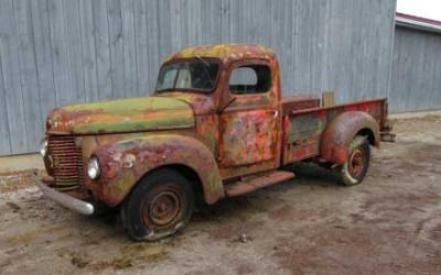 1947 International KB-2, 3/4 Ton Pickups