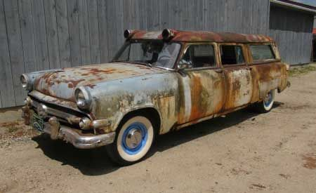 1954 Ford SIEBERT ambulance For Sale | AllCollectorCars com