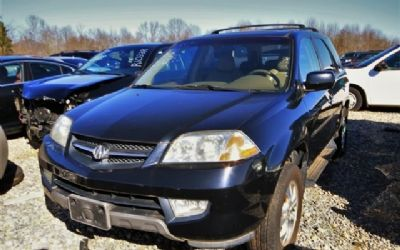 2003 Acura MDX Touring AWD W-Navigation & Rear-Entertainment
