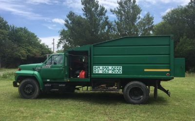 1991 Ford F700
