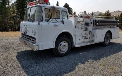 1965 Ford F850-Fire-Truck