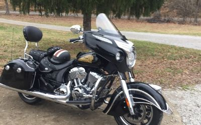 2015 Indian Chieftain-Black