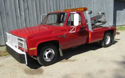 1988 Chevrolet C-30 1 Ton Factory Build Wrecker
