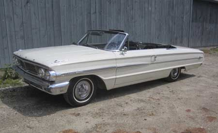 1964 Galaxie 500 XL Sunliner conv Image