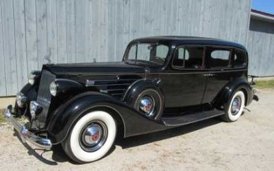 1937 Packard Model 1508 V12 Limo