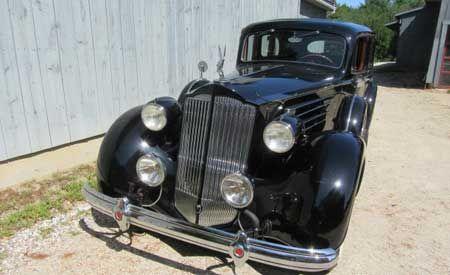 1937 Packard Model 1508 V12 limo 2