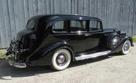 1937 Packard Model 1508 V12 limo 5