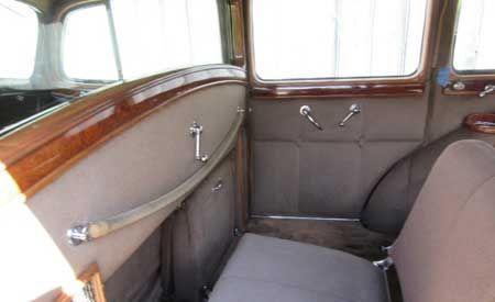 1937 Packard Model 1508 V12 limo 9
