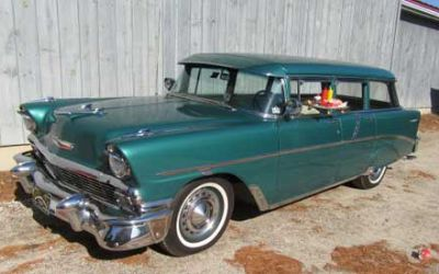 1956 Chevrolet 210 Townsman Six Pass Wagon