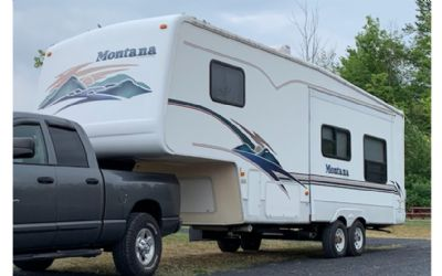 2001 Keystone Montana 2750RK 5TH Wheels
