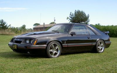 1985 Ford Mustang-Cobra