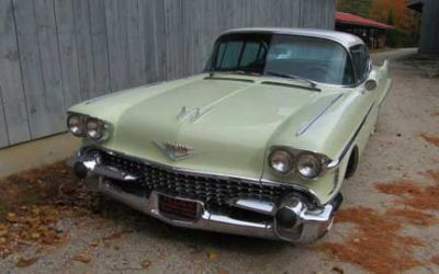 1958 Cadillac Series 62 Four Door Hardtop