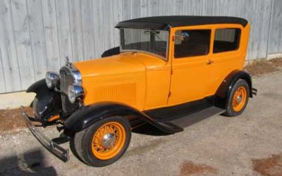1931 Ford Model A Tudor Streetrod