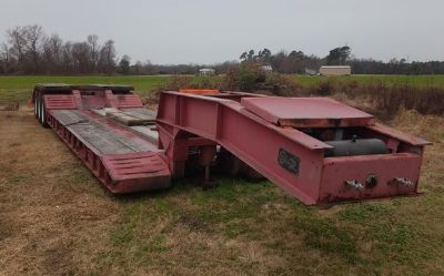 2001 Witzco Challenger-Lowboy-50-Rgn-Trailer