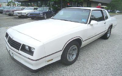 1986 Chevrolet Sorry Just Sold!!! Monte Carlo SS