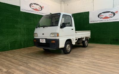 1994 Subaru Sambar S-DX Supercharged Mini Truck