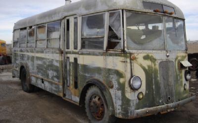 1938 GMC BUS Rare Short Wheel BUS