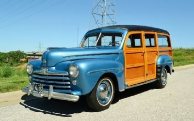 1947 Ford Woody Wagon 2-Owner 54K Miles