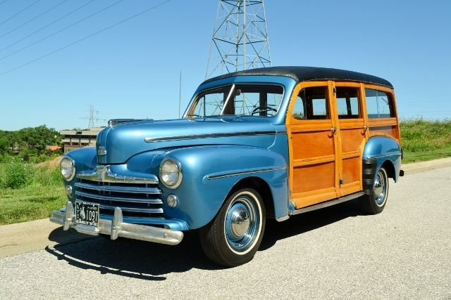 1947 FORD WOODY WAGON 1