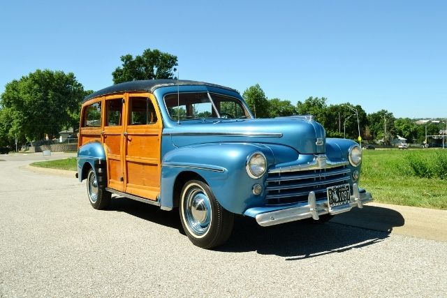 1947 FORD WOODY WAGON 5