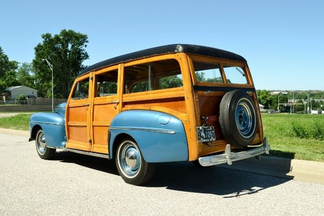 1947 FORD WOODY WAGON 3
