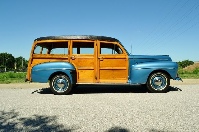 1947 FORD WOODY WAGON 6
