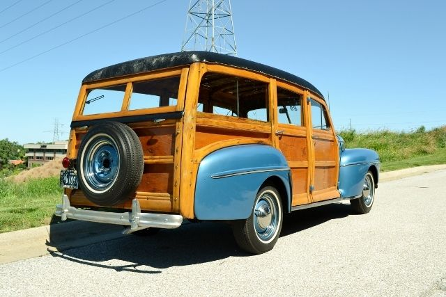 1947 FORD WOODY WAGON 7